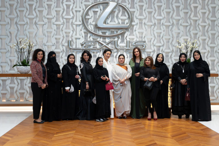 Gallery Our International Women's Day Celebration at the recently awarded Sakura Lounge by Lexus Amal Ameen